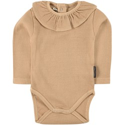 Sproet & Sprout Ruffle Baby Body Beige