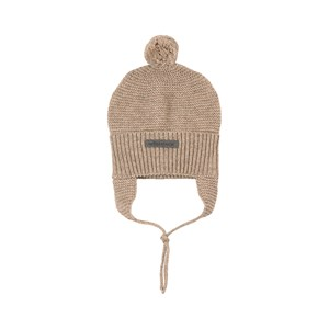 Image of My Little Cozmo Baby Knitted Beanie Beige 12-24 mdr (1951053)