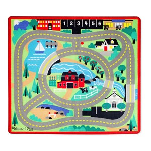 Image of Melissa & Doug Around the Town Road Rug 3+ years (2027632)