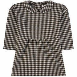 Sproet & Sprout Block Check Dress Black