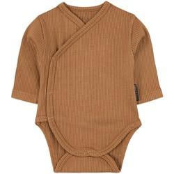 Sproet & Sprout Ribbed Wrap Body Brown