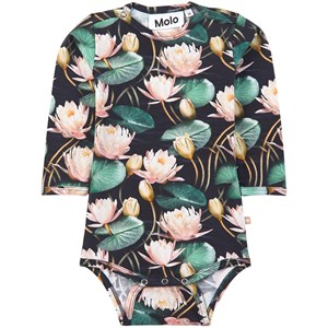 Image of Molo Foss Babybody Water Lilies 86 cm (1-1,5 år) (1925619)