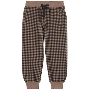 Image of My Little Cozmo Check Sweatpants Taupe 10 år (1950862)