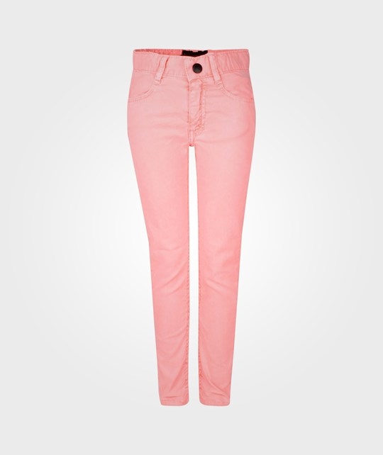Finger In The Nose Tama Skinny Fit Jeans Fluo Coral Pink
