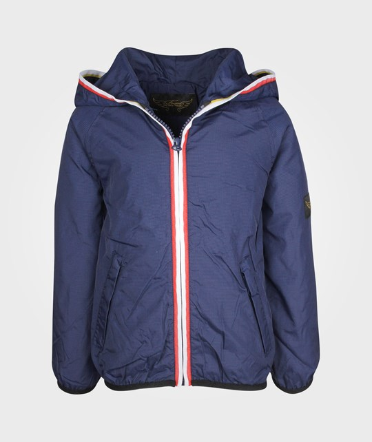 Finger In The Nose Marley Rain Stop Jacket Blueberry Blue