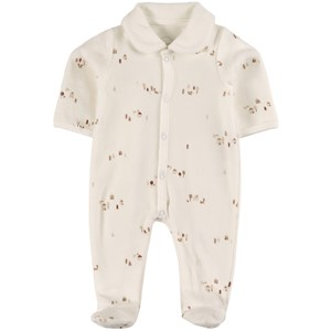 Image of Absorba White Babygrow 3 mdr (2035023)