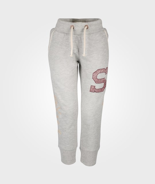 Scotch & Soda Sweat Pants With Special Ribs & Patches Black