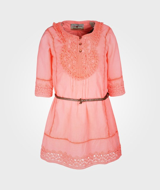 Scotch R'belle Beachy Tunic Dress With Lace Pink