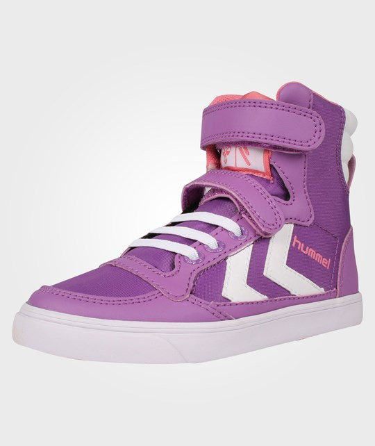 Hummel Hummel Slim Stadil Jr Poly High Purple