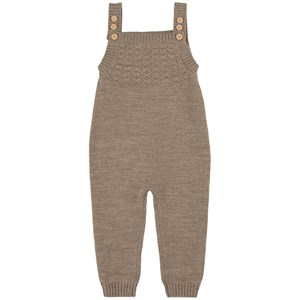 Image of Little Jalo Knit Overalls Wood Brown 56 cm (1872765)