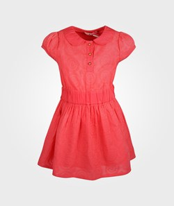 NONO Dress SL Embroidery Rouge Red