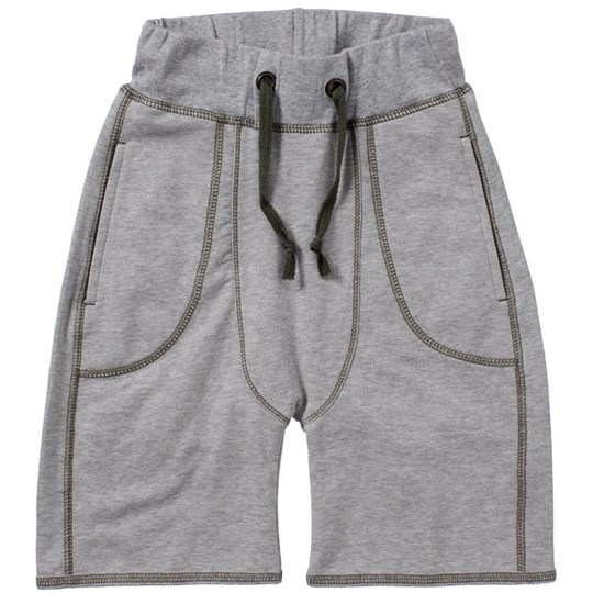 Mini A Ture Shorts Eijvin Grey Melange Black