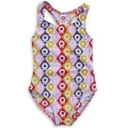 Katvig Swimsuit Lemon Harlequin Pink