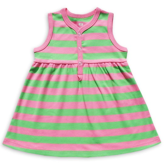 Katvig Dress Pink/Green Multi