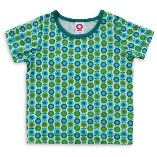 Katvig T-shirt Grass Mini Apple Green