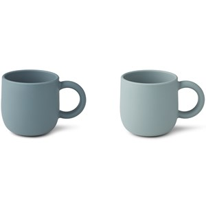 Image of Liewood 2-Pack Merce Cups Blue one size (1971991)