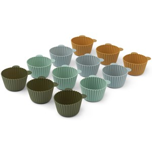Image of Liewood 12-Pack Jerry Cupcake Cases Green one size (1972030)