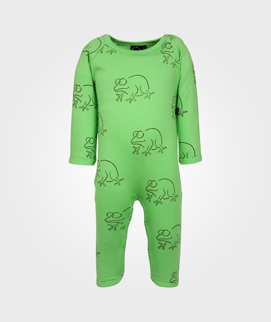 Ida T Bodysuit L/S Light Green Frog Green