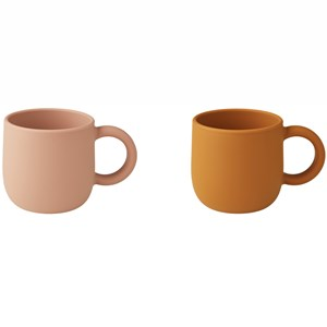 Image of Liewood 2-Pack Merce Cups Mustard/Dark Rose one size (1971989)