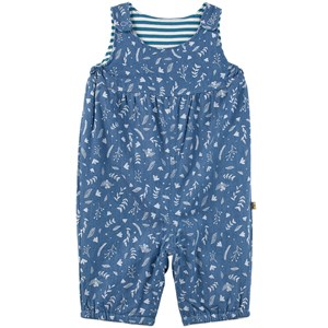 Image of Frugi Meadow Overalls Chambray Floral 6-12 mdr (1983426)