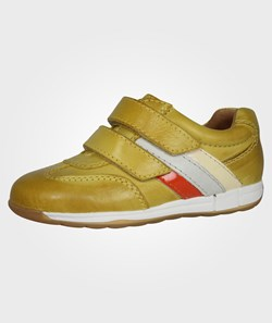 Bisgaard Velcro Shoe Yellow