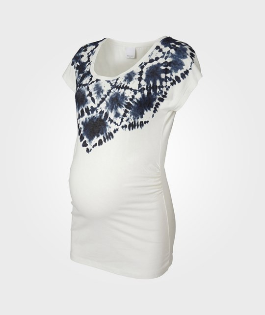 Mamalicious Manny SS Jersey Top Snow White White