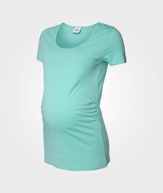 Mamalicious Emma S/S Jersey Top Lucite Green Green