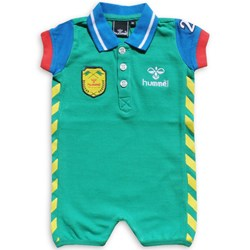 Hummel Rugby Polo Suit Green