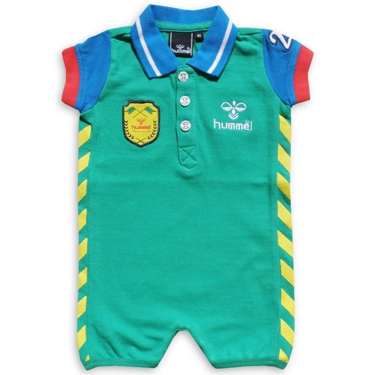 Hummel Rugby Polo Suit Green Green