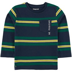 Mayoral Striped T-Shirt Navy