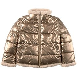 Mayoral EcoFriends Reversible Puffer Jacket Gold