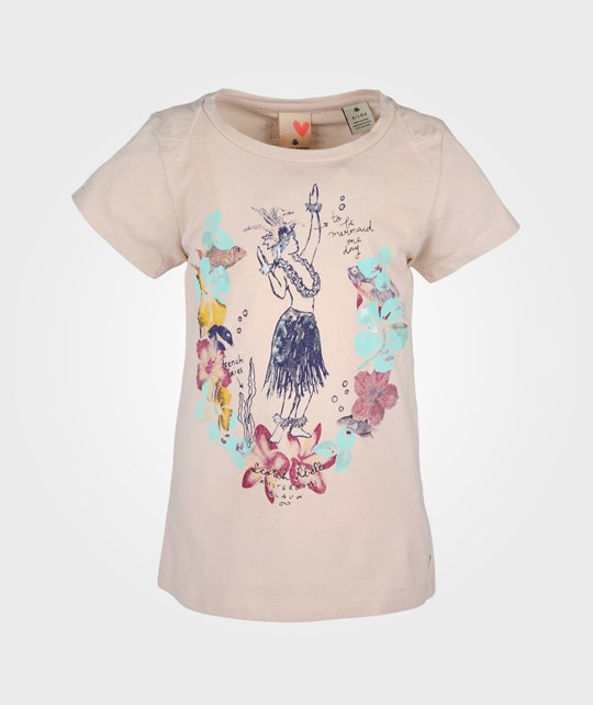 Scotch R'belle Tee With Photo Print Beige