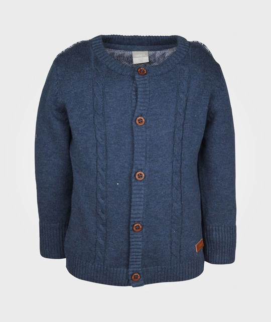 Name it Herb Knit Cardigan Dress Blues Blue
