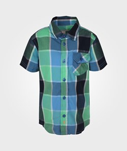 Esprit Check Shirt Dolphin Blue