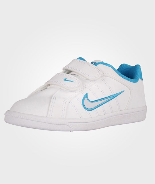 NIKE Court Tradition 2 Plus (PSV) Pure Platinum/Vivid Blue Blue