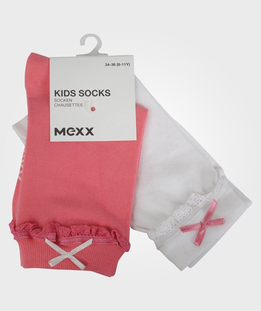 Mexx Kids Girls Socks 2-Pack Sunrise Yellow