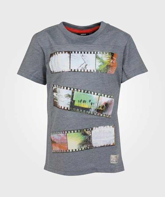 Mexx Kids Boys T-Shirt Coal Grey Melange Black