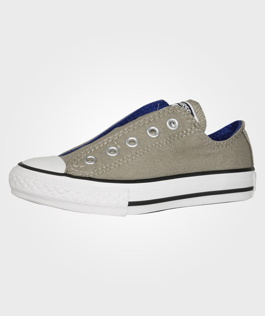 Converse All Star Kids Slip Ox Old Silver Silver
