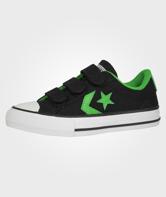 Converse Star Player EV3 Kids Ox Black/Jungle Green Green