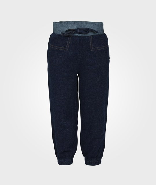 Geggamoja Pants Indigo Denim Blue