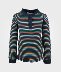 Geggamoja L/S T-Shirt Multistriped/Blue