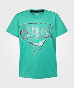 Guess SS T-shirt Mint Green