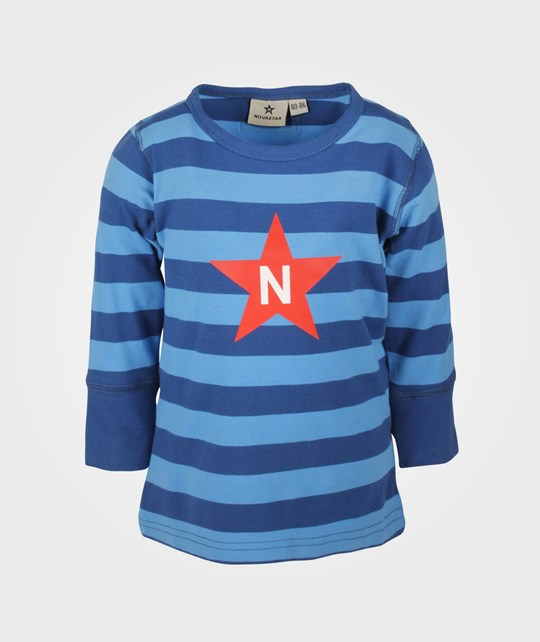 Nova Star Striped T Ocean Blue