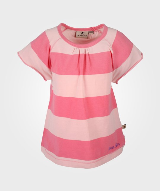 Nova Star Striped Top Pink Pink