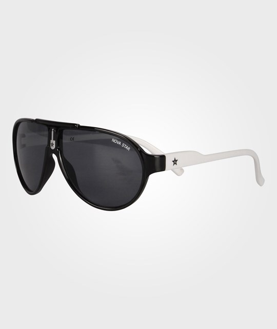 Nova Star Buzz Split Sunglasses White