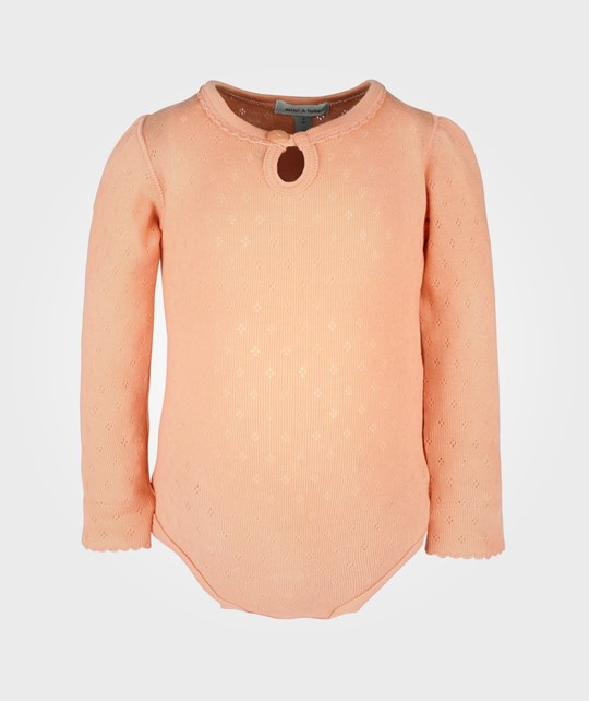 Mini A Ture Fluca B Body LS Rose Peach Pink
