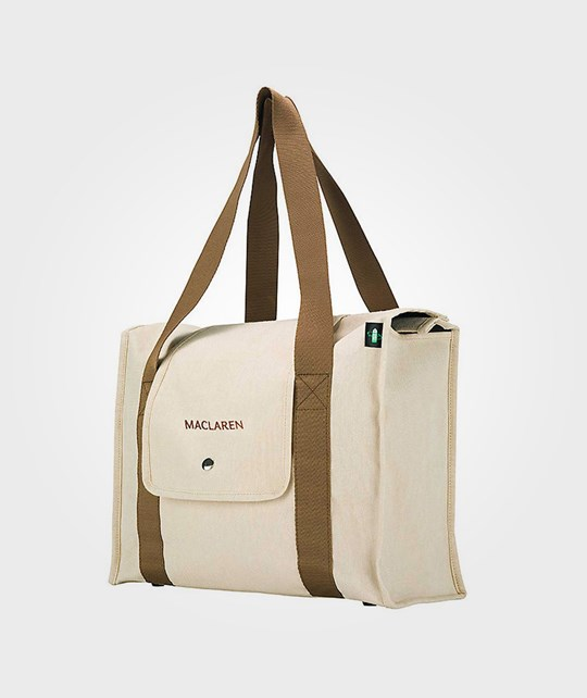 Maclaren Park Bag Natural Canvas Multi