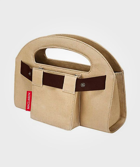 Maclaren Mini Utility Tote Canvas Natural Multi