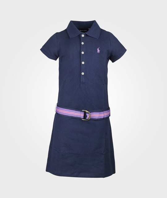 Ralph Lauren SS Polo Dress Spring Navy Blue