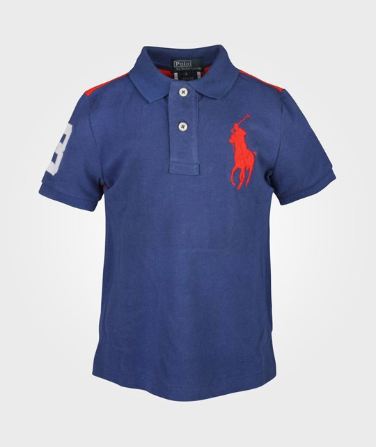 Ralph Lauren SS Polo W/Big PP Mascot Blue Blue
